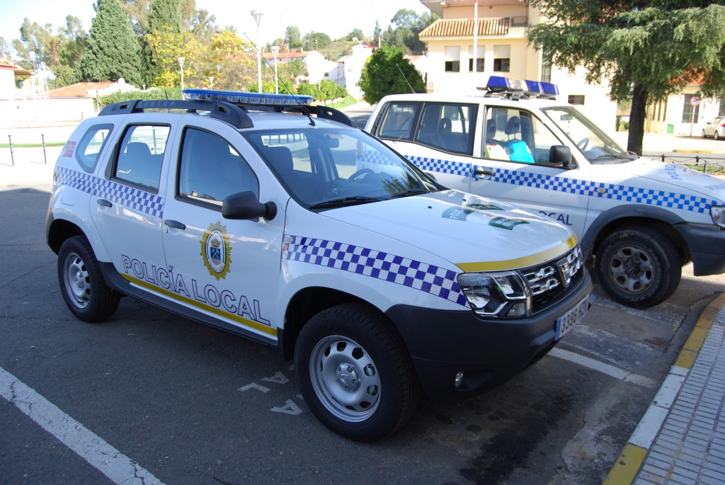 coche policia local minas de riotinto